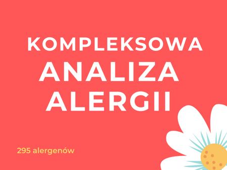 KOMPLEKSOWA ANALIZA ALERGII  - ALEX 295